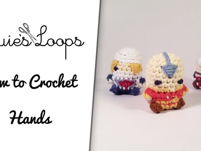 How to Crochet Amigurumi Hands (changing colors mid-stitch)