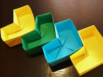 HOW TO MAKE A HEART ORIGAMI BOX