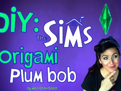 How to make Sims costume or photobooth DIY | Mika Chan Sailor