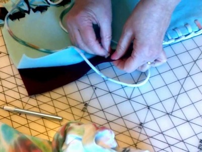 No-Sew, No-Tie Fleece Blanket Edge, How To Demonstration