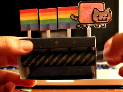 Papercraft nyan cat