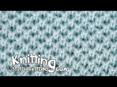 Pearl Brioche stitch