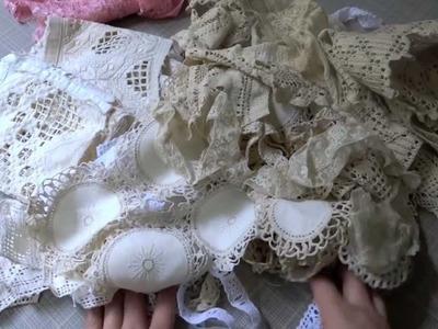 Shabby Lace & Vintage Crochet Trims Haul