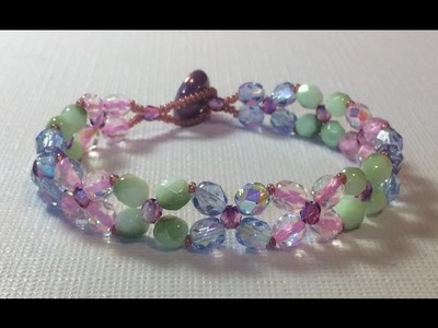 (Tutorial) Butterflies In Motion Bracelet ( Video 128)