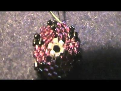 Tutorial DIY: Orecchini peyote fiori