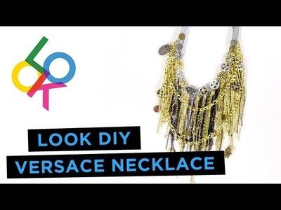 Versace Necklace Tutorial: LOOK DIY