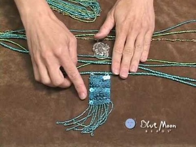 "Blue Moon Beads ""Learn to Make a Colorful Bohemian Necklace"" Video Tutorial"
