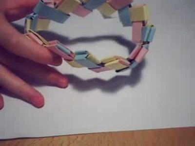 Chain-link Bracelet - Origami
