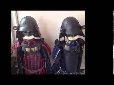 Crafting Samurai Armour