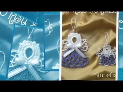 Crochet angels-design by Mice Torbice