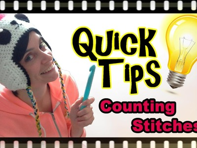 Crochet Quick Tips - Counting Stitches