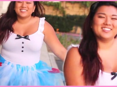 DIY Alice In Wonderland Halloween Costume With MissRemiAshten!