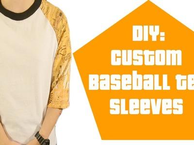 DIY: Custom Baseball Sleeves Tutorial