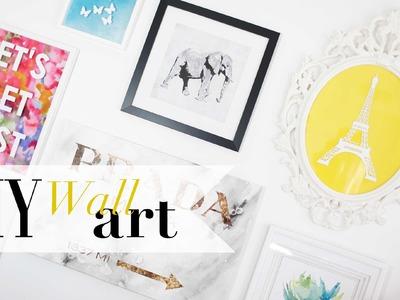 DIY Gallery Wall Art  - ANNEORSHINE