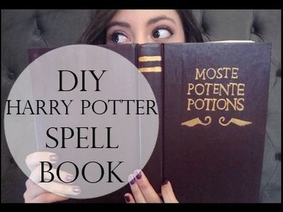 DIY Harry Potter Spell Book