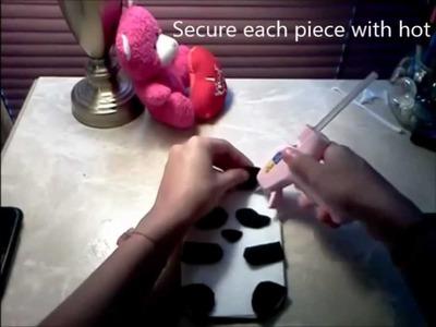 DIY Panda Bear Phone Pouch