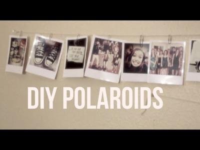 DIY Polaroid Photos