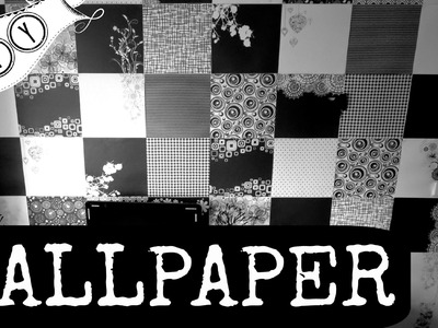 DIY | ROOM WALLPAPER | ROOM DECOR