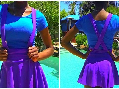 DIY Suspender Skater Skirt!