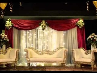 DIY Wedding stage decorating ideas