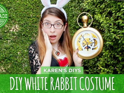 DIY White Rabbit Costume from Alice in Wonderland - HGTV Handmade