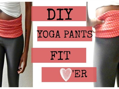 DIY Yoga Pants I Easy Beginner Sewing