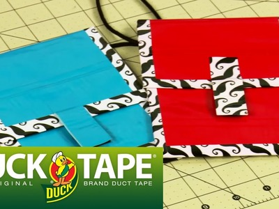 Duck Tape Crafts: How to Make a Duct Tape Passport Holder