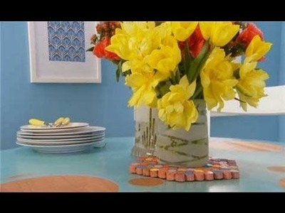 Easy DIY Decor - How to Paint a Vase