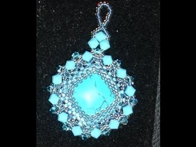Handmade Jewelry: Mariel's Deep Illusion Pendant