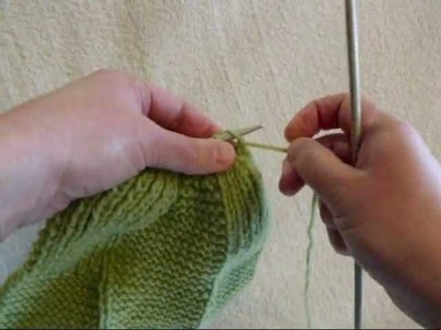 How to Gather Stitches - Knitting Lesson 8