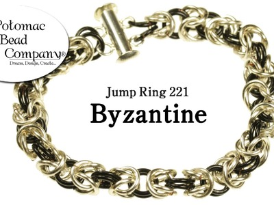How to Make a Byzantine Bracelet