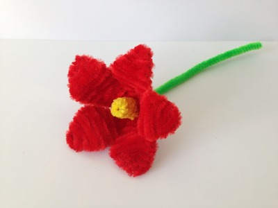 How to make a Pipe Cleaner Lily