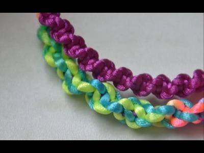 How to Make A Spiral Friendship Bracelet