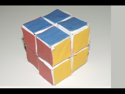 How To Make A Working Rubik's Cube Out Of Paper!