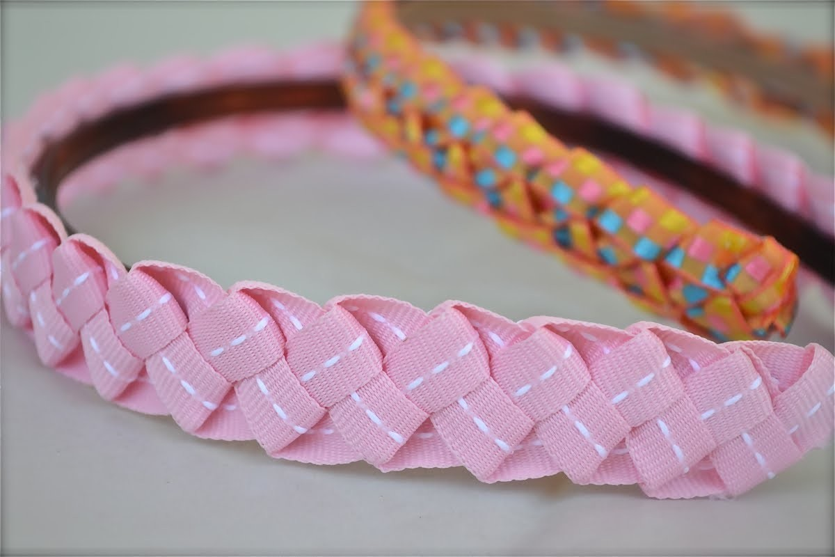 How to make ribbon headbands for little girls | Nik Scott