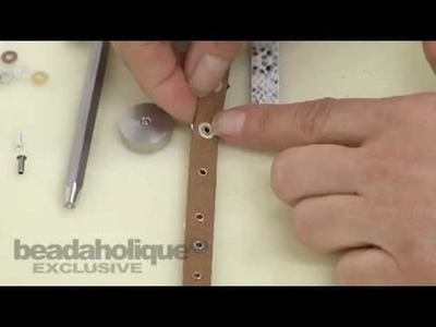 How to Use TierraCast Eyelets With Leather & Alternative Cords by TierraCast