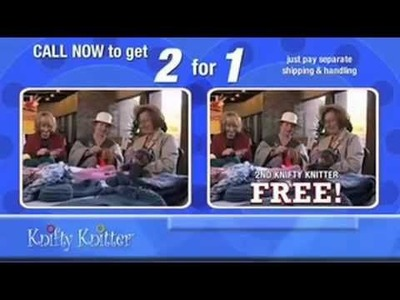 Knifty Knitter Infomercial (voice over by DC Douglas)
