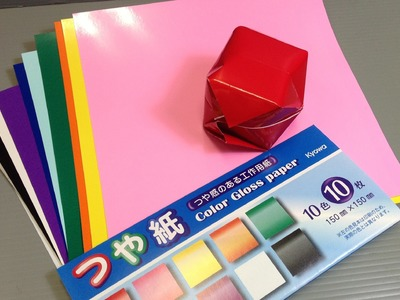 Kyowa Color Gloss Origami Paper Unboxing!