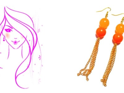 MORENA DIY: HOW TO MAKE FASHION TASSEL EARRINGS