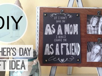 Mother's Day Gift Idea | Photo Frame | Michele Baratta