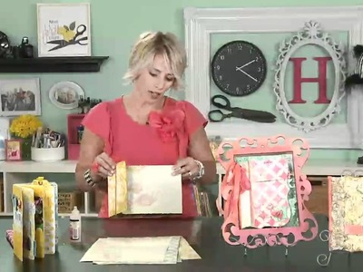My Craft Channel: Back to Back Book Binding by Heidi Swapp