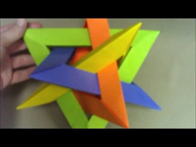 Origami Instructions: Woven Polyhedra Part 2 of 2