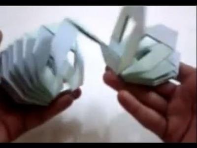 Origami Slinky - Tutorial