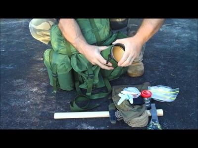 Overnight Bushcraft Kit