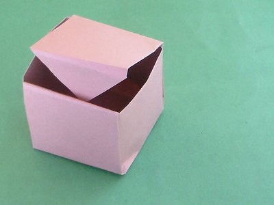 Paper Box Origami - How to Papercraft (Origami)