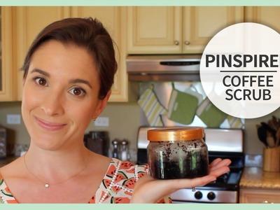 Pinspired | DIY Coffee Scrub