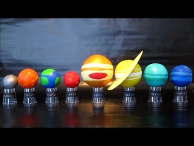 Planets In Our Solar System | DIY Science Project For Kids | Easy To Do Solar System Model