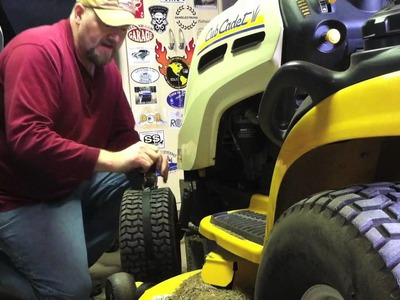 Quick tip: How To Reseal a Tractor Tire Bead Using a Ratcheting Tie-Down Strap