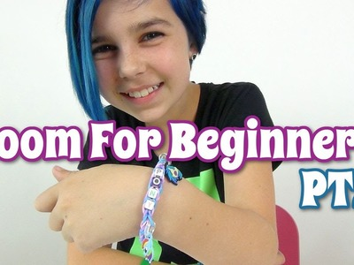 Rainbow Loom - My Little Pony - Tutorial For Beginners - Beads and Charms