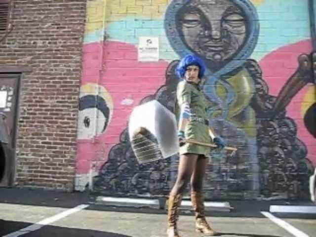 Ramona Flowers Costume Tutorial & DIY Hammer